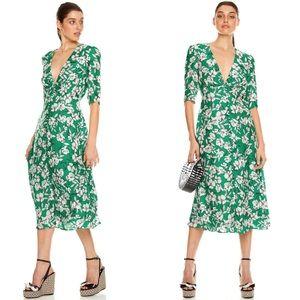 NEW TALULAH That Forever Feeling Floral Midi Dress